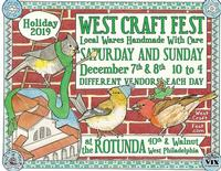 West Craft Fest is December 7 & 8 this year
