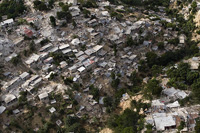 Haitian Neighborhood in Rubble
