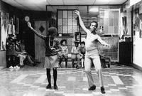 Arthur Lee Hall teaching dance in the 1970s
