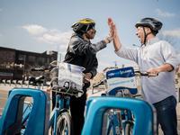 Try out Philadelphia's Indego bike-sharing program!
