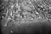 An aerial photo of The Lazaretto taken in 1929 (from our Print and Picture Collection)