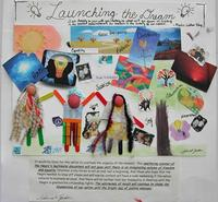 "High School Winner – ""Launching the Dream"" by Asherah G., 11th grade, Wynnefield Branch Library LEAP program"