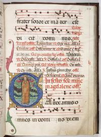 A page from a Medieval Italian choir book