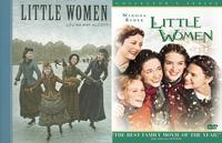 <i>Little Women</i> book and DVD covers