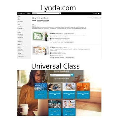Use Free Library online learning resources, Lynda.com and Universal Class to learn bookkeeping and QuickBooks!