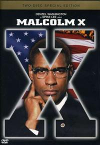 Malcolm X DVD cover © Warner Bros. Pictures