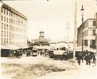 Market Street at Delaware Riverfront ca. 1894 (Library Company of Philadelphia)