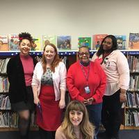 Lucien E. Blackwell West Philadelphia Regional Library Children's Department Staff
