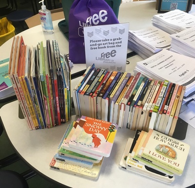 Oak Lane Library Outreach at Wagner Middle School
