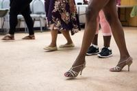 Kick up your heels at a dance class in August at Greater Olney Library!