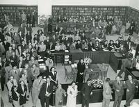 Opening day of the Greater Olney Branch, October 20, 1949