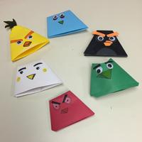 A picture from a South Philadelphia Library origami program.