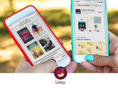You will be able to access titles through the OverDrive website, the classic OverDrive app, and the Libby app.
