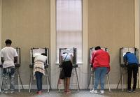 Many Free Library locations will be polling places on November 6, and all will have voter registration forms on hand.