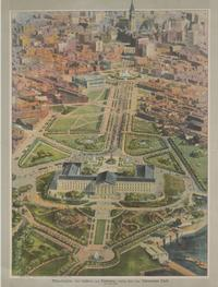 Philadelphia Art Gallery and Parkway, by Craig, Finley & Co., Lithographers (1925)
