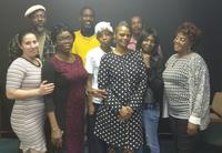 Past Employment Boot Camp Graduates with Cynthia Ryant, Employment Specialist at Southwest CDC (photo by Mark Harrell, Southwest CDC staff)