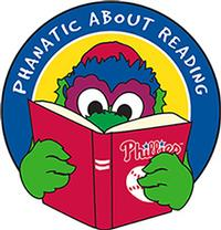 The Phillie Phanatic loves to read!