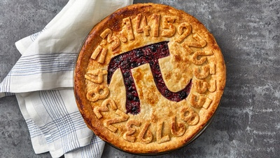 Every year on March 14, the Culinary Literacy Center celebrates this very interesting number with a delicious dessert of the same name.
