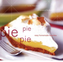 Pie lovers everywhere will enjoy this cookbook that focuses on the basics of pie-making