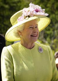 Her Majesty, The Queen, in 2007