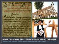 BMs 99 Topping Out Ceremony Photo Collage  Courtesy L - Free Library of Philadelphia, UR - Reit- und Fahrverein Grumbach-Wilsdruff, LR - Landeskirchliche Gemeinschaft Marienberg