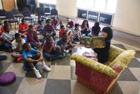 Storytelling with Councilwoman Helen Gym at our Summer Reading Kickoff Event
