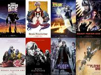 Some of the pop culture references and Easter Eggs from <i>Ready Player One</i> appear in these homage posters.