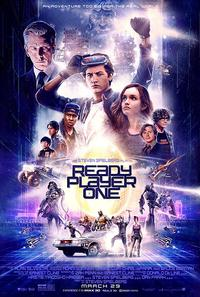 <i>Ready Player One</i>, adapted from Ernest Cline's novel of the same name, opens in theaters March 29, 2018.