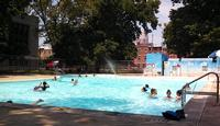 Ridgway Pool at 13th & Carpenter Sts. in South Philly, photo credit Philly Public Pools blog
