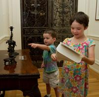 Children can be junior detectives as part of the Rosenbach's We the Detectives (credit Mark Garvin).