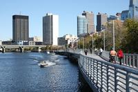The Schuylkill River Trail is a great way to beat Center City traffic.