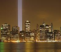 9/11 Tribute in Lights by Chris Schiffner