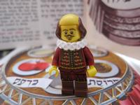 Shakespeare can be a special guest at seder this year.