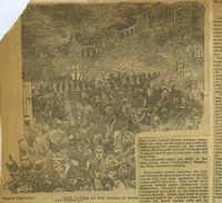 Nativist Riot in Southwark (Free Library, Print and Picture Collection)
