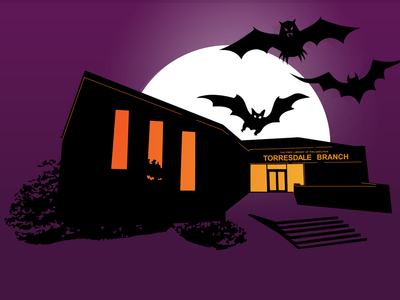 Torresdale Library's Haunted House experience has gone virtual.