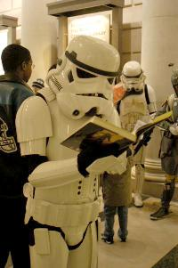 Storm Troopers Love to Read