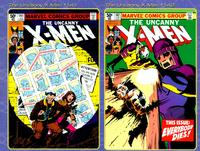 Covers to Uncanny X-Men #141 and #142, the issues that make up the bulk of Days of Future Past storyline