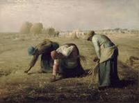 Jean-François Millet's 1857 painting <i>The Gleaners</i>, which is featured in Varda's <i>The Gleaners and I</i>.