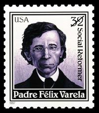 Varela was honored with a commemorative stamp in 1997