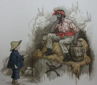 Wan Lee from <i>Queen of the Pirate Isle</i>, illustrated by Kate Greenaway