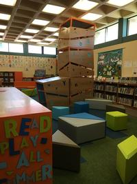 Whitman Library's new Play-and-Learn Space (image courtesy of William Penn Foundation)