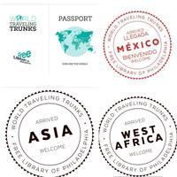The World Traveling Trunks—Passport