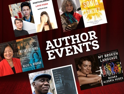 Explore the entire Spring Author Events lineup in the calendar.