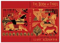 The 50th anniversary edition cover of Lloyd Alexander's <i>The Book of Three</i>