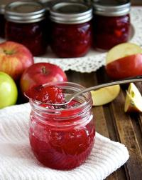 Apples and Cranberries!