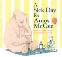 Caldecott Winner <i>A Sick day for Amos McGee,</i> illustrated by Erin E. Stead