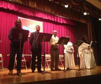 The Singers L-R (M. Barry Currington, Dr. Carl DuPont, Richard Smith, Hazelita Fauntroy, Evette Rose)
