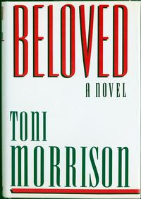 Beloved by Toni Morrison book cover (image from The Library of Congress)