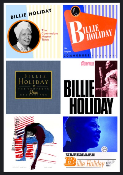 Some Billie Holiday musical highlights, available through our Jazz Music Library digital resource.