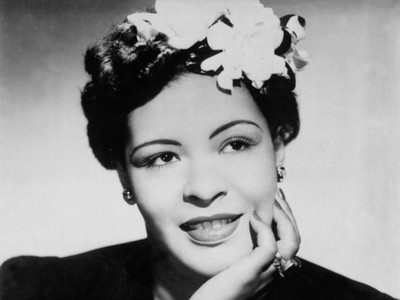 Billie Holiday and her famed gardenias